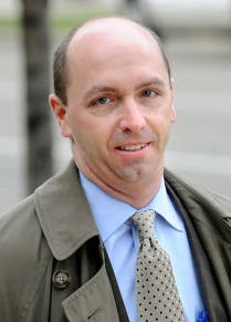 Douglas Sughrue, Marjorie Diehl-Armstrong's trial lawyer, brushed off her constant hectoring of him. ROB ENGELHARDT/ERIE TIMES-NEWS